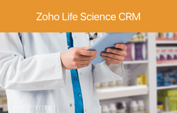 Zoho Life Science CRM
